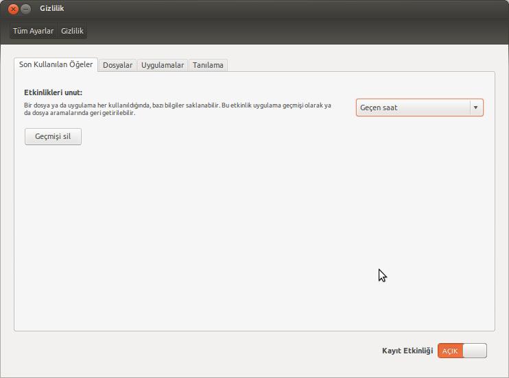 ubuntu-gizlilik